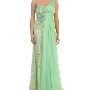 MINT Embellished Lace MayQueen SIZE 6